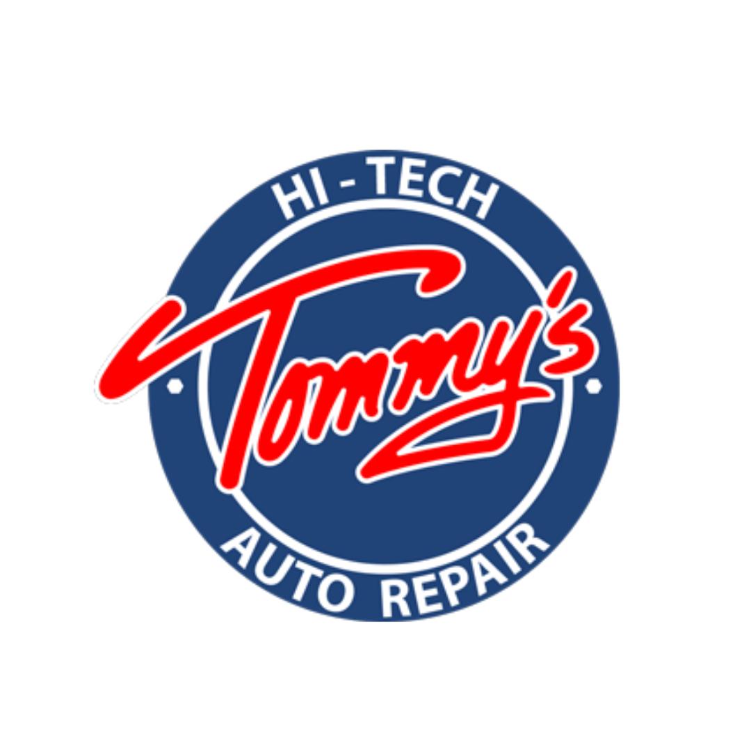 Tommy's Hi-Tech Auto Repair Shop Logo